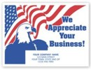 200115; We Appreciate your Business auto floor mat