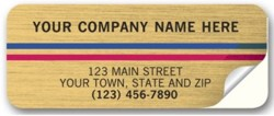 355 Return Address Label personalized with your business information