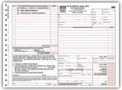 6585 Florida Repair Order form personalized with your business information! Request a FREE sample.