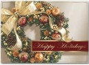 H13641 Circle of Gold Holiday Cards