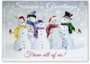 H15654 Snow Squad Holiday Cards