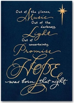 H55953 Spiritual Hope Christmas Cards